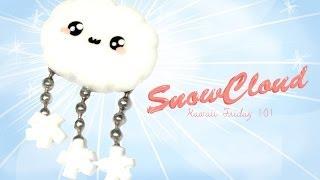 getlinkyoutube.com-◕‿◕ SnowCloud! Kawaii Friday 101 - Tutorial in Polymer clay!
