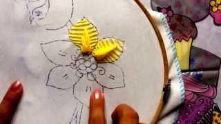 getlinkyoutube.com-40.- Bordado fantasía para pétalo de flor