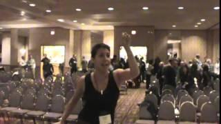getlinkyoutube.com-Post hypnotic suggestion hypnotized lady still hypnotized after show