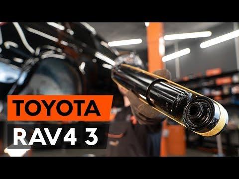 Как заменить амортизаторы задней подвески на TOYOTA RAV 4 3 (XA30) (ВИДЕОУРОК AUTODOC)