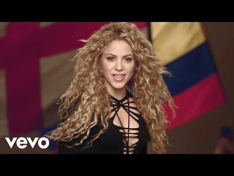 Shakira - La La La brazil 2014 Ft. Carlinhos Brown
