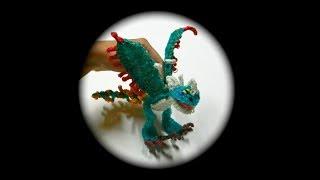 getlinkyoutube.com-How to Loom Your Dragon (Stormfly/Nadder Adult)