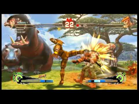 Daigo (Ryu) vs GamerBee (Adon) - 3 Matches (August 2010)