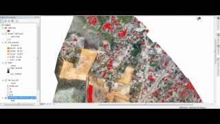 getlinkyoutube.com-Classificação Supervisionada no ArcGIS 10.1 - VANT - UAV - Angola - Sinfic 2012