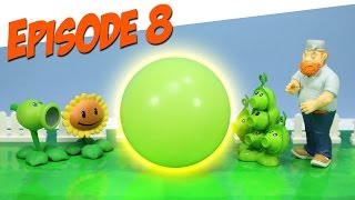 getlinkyoutube.com-Plants vs. Zombies Toy Play Episode 8 Pea Pod's Cold
