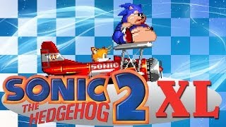 getlinkyoutube.com-Sonic 2 XL - Walkthrough with all Chaos Emeralds