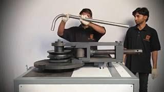 getlinkyoutube.com-2 inch Gear Motor Pipe Bending Machine Part 2