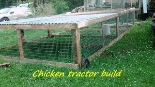 getlinkyoutube.com-How to build a portable chicken tractor coop....Part 1