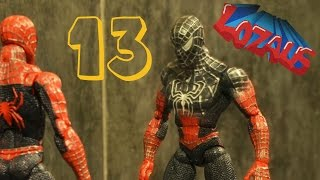 getlinkyoutube.com-SPIDERMAN STOP MOTION Action Video Part 13 with BATMAN