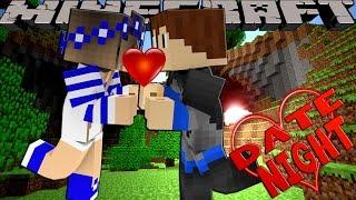 getlinkyoutube.com-Minecraft DATE NIGHT - SCUBA STEVE'S FIRST GIRLFRIEND!!