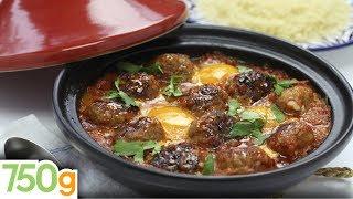 getlinkyoutube.com-Tajine de kefta aux œufs - 750 Grammes