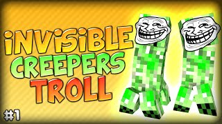 getlinkyoutube.com-HILARIOUS INVISIBLE CREEPER TROLL MADNESS - Minecraft Modded Parkour Anti City 2 (Starminer Mod)
