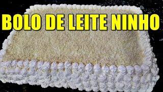 getlinkyoutube.com-BOLO DE LEITE NINHO QUE FIZ PARA MEU ANIVERSÁRIO 30/07/2016 RECEITA PASSO A PASSO PR MARA CAPRIO