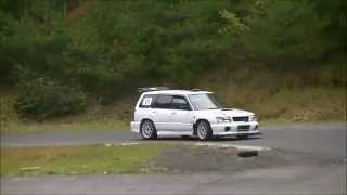 getlinkyoutube.com-SUBARU CIRCUIT TRIAL 2014 (フォレスタークラス) 1位
