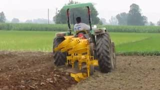 getlinkyoutube.com-Reversible M B  Plough 3 Bottom (Hydraulic Type) - Dhir Field Tanda (Contact No - 00919417124649)