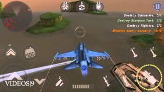 getlinkyoutube.com-GUNSHIP BATTLE : Episode 12 Mission 03 - Fighting Falcon