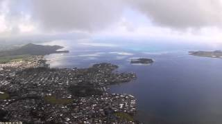 CX 20 Extremely High Altitude Flight in the clouds!