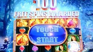 getlinkyoutube.com-100 SPINS! HUGE MEGA BIG WIN! Mysitical Unicorn WMS Slot Machine