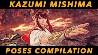 getlinkyoutube.com-TEKKEN 7 | Kazumi Mishima | Intro - Win Pose Compilation | HD 60FPS | 鉄拳7