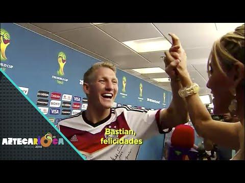 Aztecarioca - Inés Sainz entrevistó a los campeones del mundo