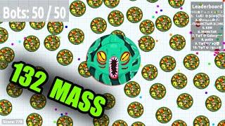 getlinkyoutube.com-Agar.io - BIGGEST HACK?! 50 FREE 132 MASS BOTS GAMEPLAY // 1000 IN SECONDS! (Agario)