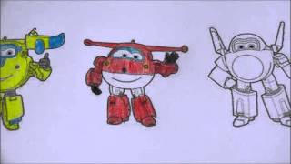 getlinkyoutube.com-SUPER WINGS - APRENDA A COLORIR