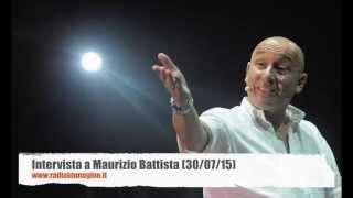 Maurizio Battista ospite di Radio Immagine
