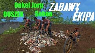 getlinkyoutube.com-FS 15   Zabawy z Ekipą - ROWERKI :D