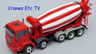 getlinkyoutube.com-Conrad MAN TGS + Liebherr HTM 1204 Truck Mixer by Cranes Etc TV