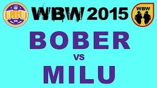 getlinkyoutube.com-bitwa BOBER vs MILU # WBW 2015 Gdańsk (1/2) # freestyle battle