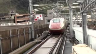 getlinkyoutube.com-フリーゲージトレイン  三次車  新幹線 在来線 試運転
