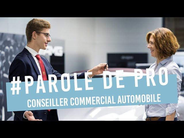 Le métier de Conseiller Commercial Automobile