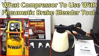 getlinkyoutube.com-Harbor Freight Pneumatic Brake Fluid Bleeder - Item 92924