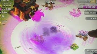 getlinkyoutube.com-Clash of clans - 300 Hog rider attack! and 1 P.E.K.K.A vs entire base