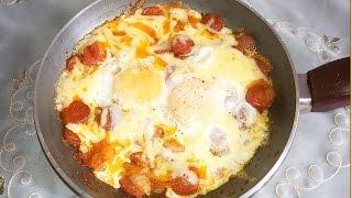 فطار أو عشاء سريع وسهل بالبيض فى 5 دقائق مطبخ ساسى