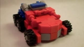 getlinkyoutube.com-Lego Transformers #58 - War For Cybertron Optimus Prime!