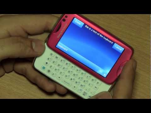 Sony Ericsson Txt Pro CK15i Unboxing and Review Cheap Qwerty Pink Slider