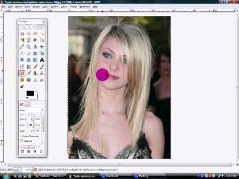 How to make hair longer and fuller in gimp 2.6
