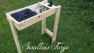 getlinkyoutube.com-Building a simple homemade Blacksmith's Forge - Swallow Forge
