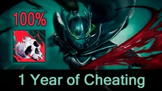 getlinkyoutube.com-Phantom Assassin 100% crit hack/script — 1 year of cheating in Dota 2