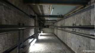getlinkyoutube.com-ELEVATOR SHAFT RIDE & MOTOR ROOM!!! Ellis & McDougall Elevator in Glasgow