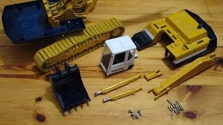 getlinkyoutube.com-RC Komatsu PC400LC Part 1 - Disassembly and Screw Mechanisms