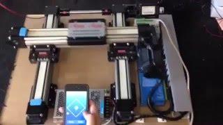 Controle de motion com clp DELTA  DVP via  Wi Fi com Android ou Sistema Apple