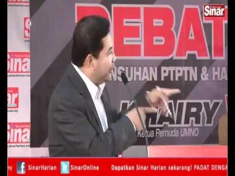 Debat PTPTN Rafizi Ramli VS Khairy Jamaluddin (Part 1)