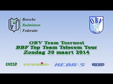 OBV Team Toernooi | BBF Top Team Telecom Tour