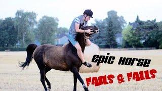getlinkyoutube.com-Epic Horse Fails & Falls | Youtube-Rider 2016 | *MUST SEE*