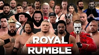 getlinkyoutube.com-WWE 2K17 - 30 Man Royal Rumble With 10+ Surprise Entrants!