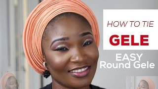 getlinkyoutube.com-How to tie Gele | Easy Gele tutorial