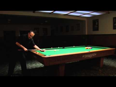 Pocketing the Eight-Ball on The Break : Billiards Lessons