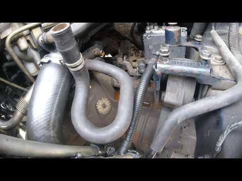 Как снять коробку передачи Chrysler Dodge